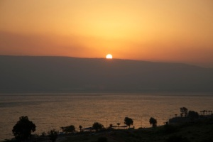 Sunrise At Galilee